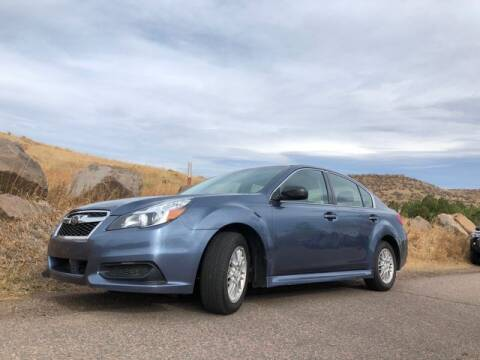 2013 Subaru Legacy for sale at Automotive Evolution in Golden CO