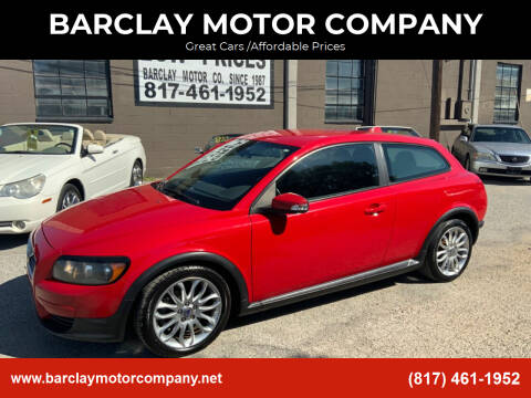 2009 Volvo C30 for sale at BARCLAY MOTOR COMPANY in Arlington TX