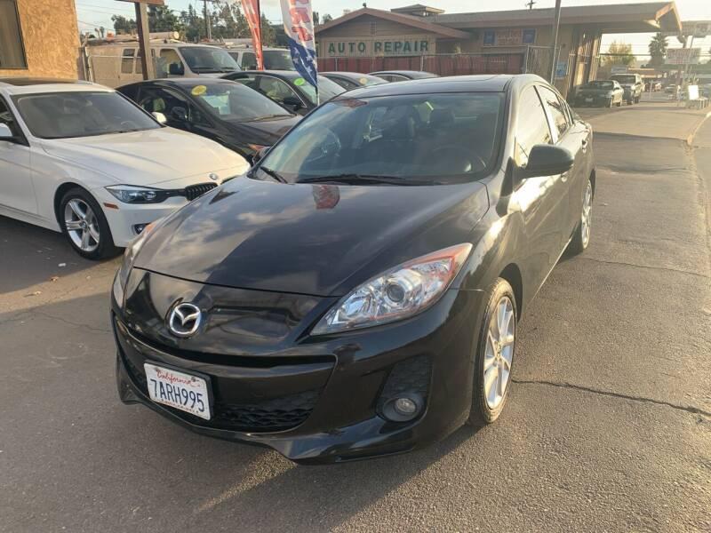 2012 Mazda MAZDA3 for sale at Aria Auto Sales in El Cajon CA