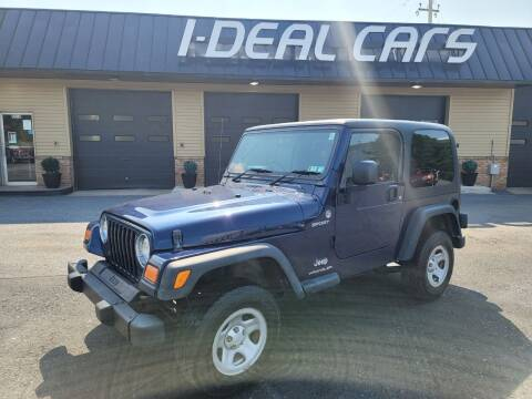 2006 Jeep Wrangler for sale at I-Deal Cars in Harrisburg PA