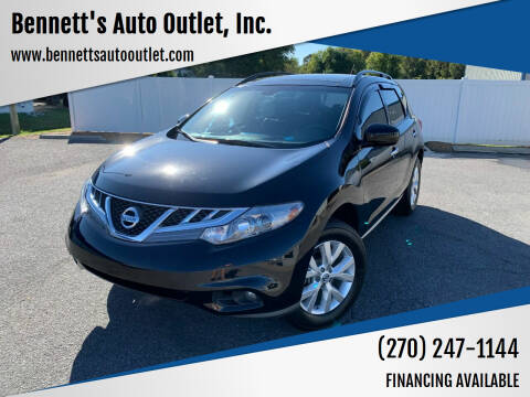 2014 Nissan Murano for sale at Bennett's Auto Outlet, Inc. in Mayfield KY