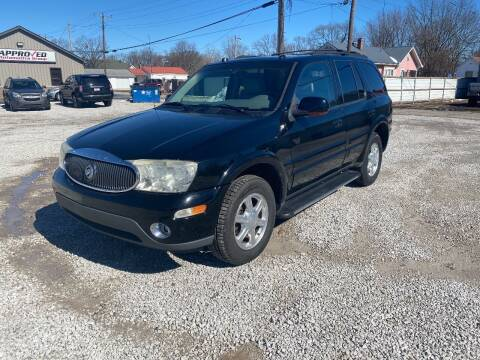 2005 Buick Rainier for sale at Approved Automotive Group in Terre Haute IN