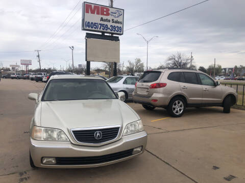 2003 Acura RL for sale at MB Auto Sales in Oklahoma City OK