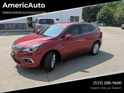 2017 Buick Envision for sale at AmericAuto in Des Moines IA