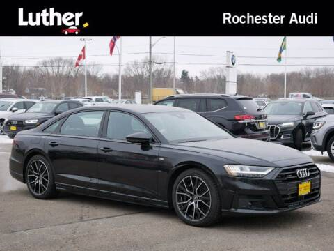 2021 Audi A8 L for sale at Park Place Motor Cars in Rochester MN