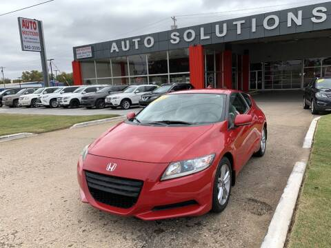 2011 Honda CR-Z for sale at Auto Solutions in Warr Acres OK