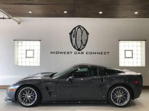 2009 Chevrolet Corvette for sale at Midwest Car Connect in Villa Park IL