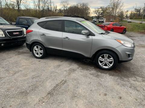 2012 Hyundai Tucson for sale at GET N GO USED AUTO & REPAIR LLC in Martinsburg WV