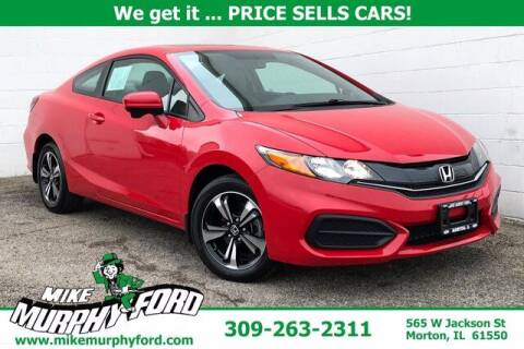 2015 Honda Civic for sale at Mike Murphy Ford in Morton IL