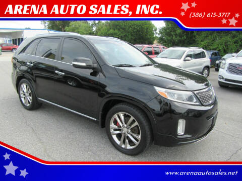 2014 Kia Sorento for sale at ARENA AUTO SALES,  INC. in Holly Hill FL
