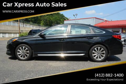 2017 Hyundai Sonata for sale at Car Xpress Auto Sales in Pittsburgh PA