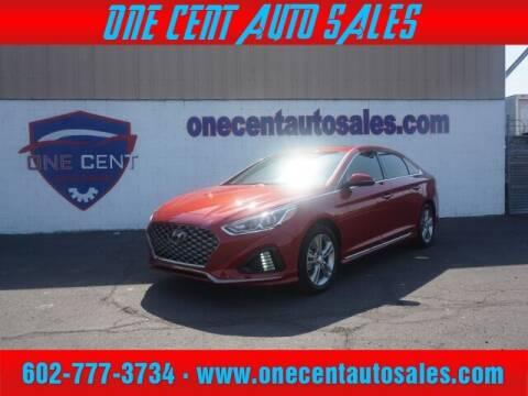 2019 Hyundai Sonata for sale at One Cent Auto Sales in Glendale AZ