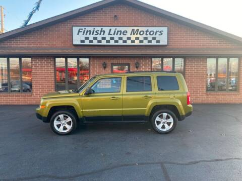 2012 Jeep Patriot for sale at FINISHLINE MOTORS in Canton OH