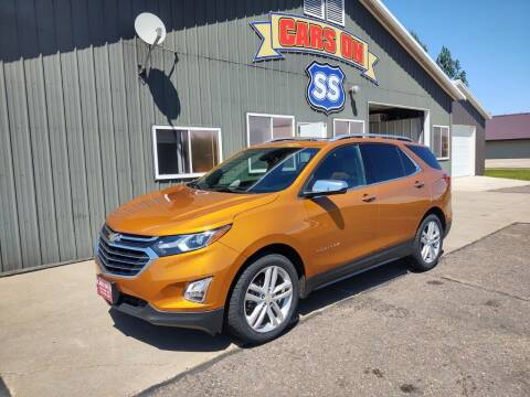 2018 Chevrolet Equinox for sale at CARS ON SS in Rice Lake WI