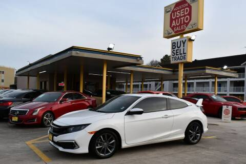 2019 Honda Civic for sale at Houston Used Auto Sales in Houston TX