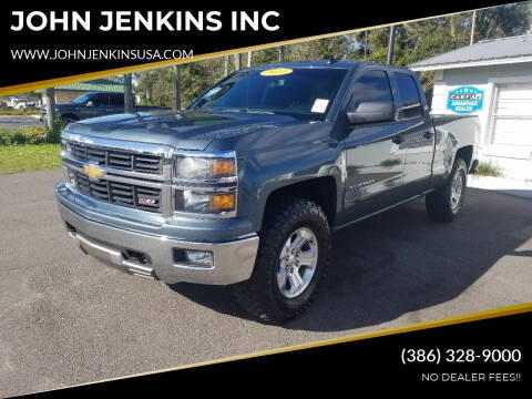 2014 Chevrolet Silverado 1500 for sale at JOHN JENKINS INC in Palatka FL