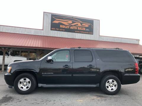 2013 Chevrolet Suburban for sale at Ridley Auto Sales, Inc. in White Pine TN