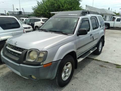 2003 Nissan Xterra for sale at P S AUTO ENTERPRISES INC in Miramar FL