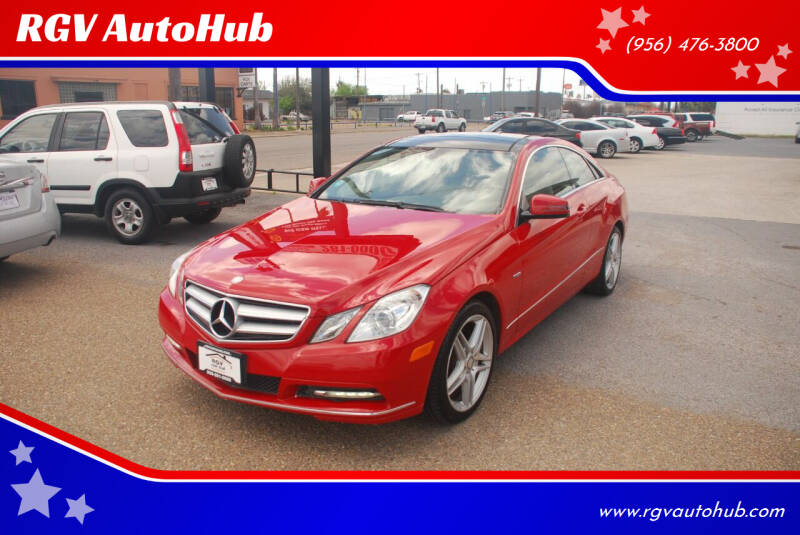 2012 Mercedes-Benz E-Class for sale at RGV AutoHub in Harlingen TX