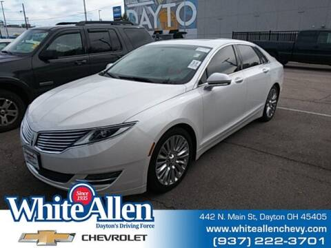 2015 Lincoln MKZ for sale at WHITE-ALLEN CHEVROLET in Dayton OH