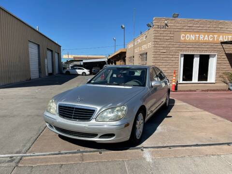2006 Mercedes-Benz S-Class for sale at CONTRACT AUTOMOTIVE in Las Vegas NV