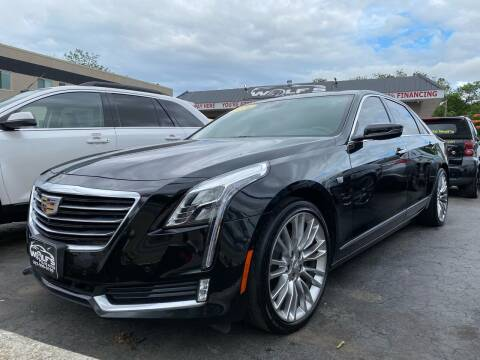 2016 Cadillac CT6 for sale at WOLF'S ELITE AUTOS in Wilmington DE