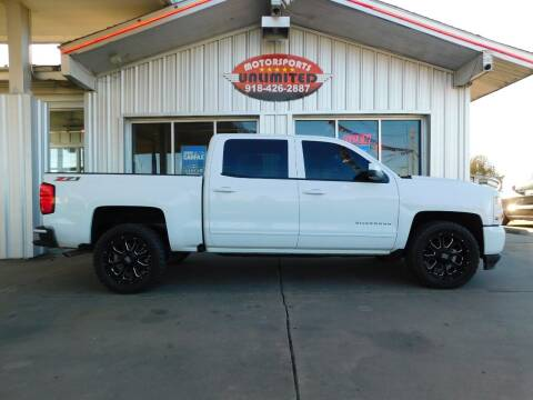2016 Chevrolet Silverado 1500 for sale at Motorsports Unlimited in McAlester OK