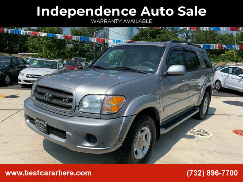 2001 Toyota Sequoia for sale at Independence Auto Sale in Bordentown NJ