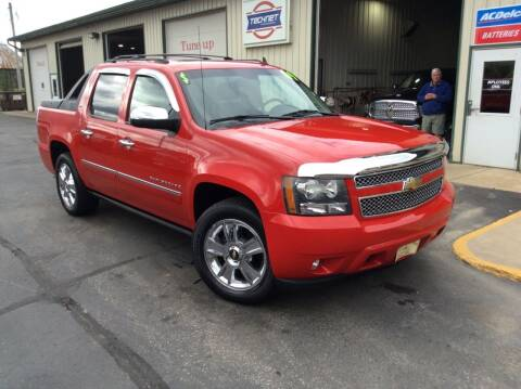 2009 Chevrolet Avalanche for sale at TRI-STATE AUTO OUTLET CORP in Hokah MN