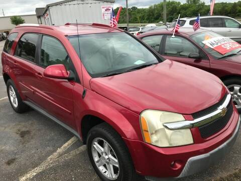 2006 Chevrolet Equinox for sale at Mitchell Motor Company in Madison TN