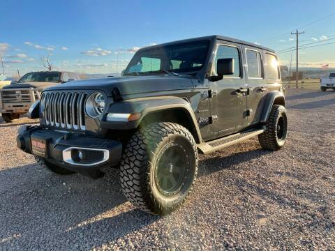 2020 Jeep Wrangler Unlimited for sale at Northern Car Brokers in Belle Fourche SD