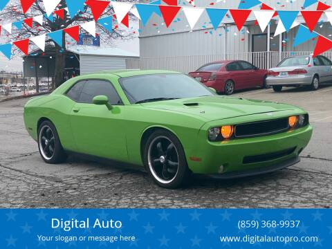 2013 Dodge Challenger for sale at Digital Auto in Lexington KY