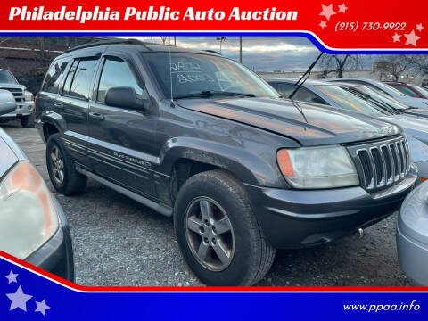 2003 Jeep Grand Cherokee for sale at Philadelphia Public Auto Auction in Philadelphia PA