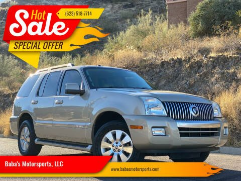 2007 Mercury Mountaineer for sale at Baba's Motorsports, LLC in Phoenix AZ