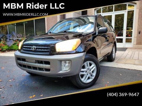 2002 Toyota RAV4 for sale at MBM Rider LLC in Alpharetta GA