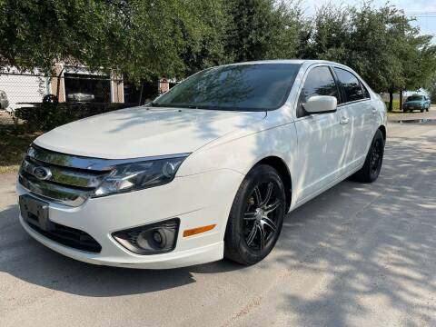 2012 Ford Fusion for sale at High Beam Auto in Dallas TX