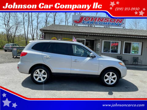 2009 Hyundai Santa Fe for sale at Johnson Car Company llc in Crown Point IN