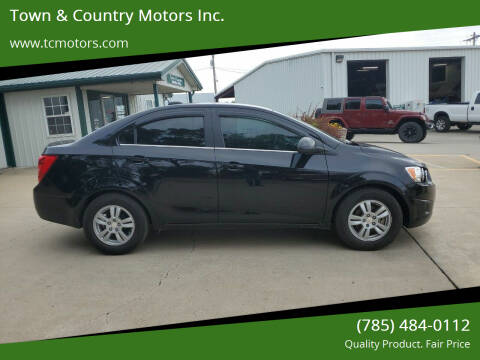 2016 Chevrolet Sonic for sale at Town & Country Motors Inc. in Meriden KS