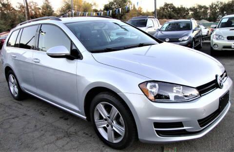 2015 Volkswagen Golf SportWagen for sale at Stallion Auto Sales llc in Roseville CA