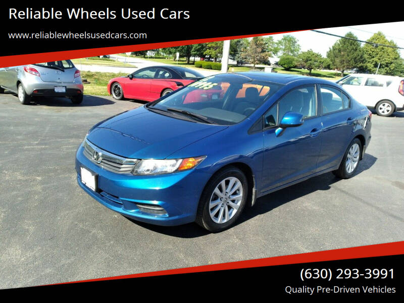 2012 Honda Civic for sale at Reliable Wheels Used Cars in West Chicago IL