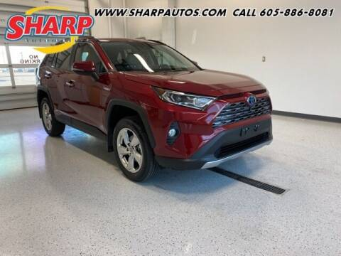 2021 Toyota RAV4 Hybrid for sale at Sharp Automotive in Watertown SD