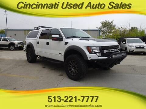 2011 Ford F-150 for sale at Cincinnati Used Auto Sales in Cincinnati OH