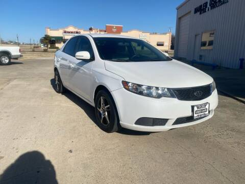2011 Kia Forte for sale at MARLER USED CARS in Gainesville TX