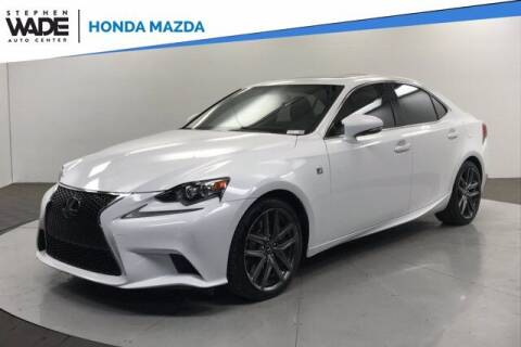 2015 Lexus IS 350 for sale at Stephen Wade Pre-Owned Supercenter in Saint George UT