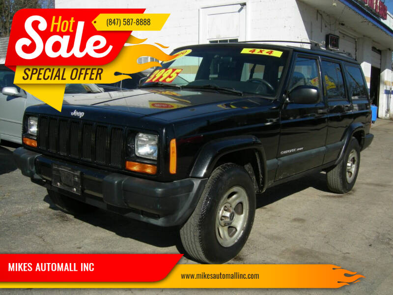 1999 Jeep Cherokee for sale at MIKES AUTOMALL INC in Ingleside IL