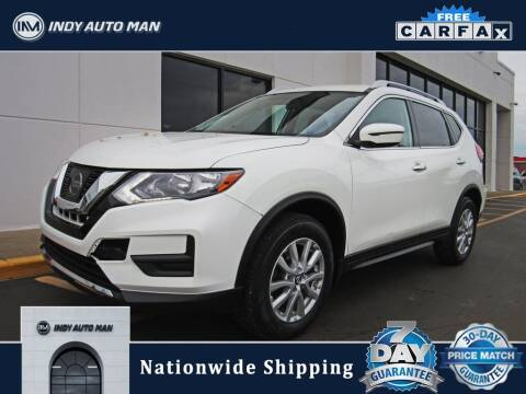 2017 Nissan Rogue for sale at INDY AUTO MAN in Indianapolis IN
