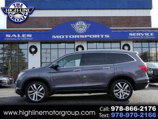 2017 Honda Pilot for sale at Highline Group Motorsports in Lowell MA