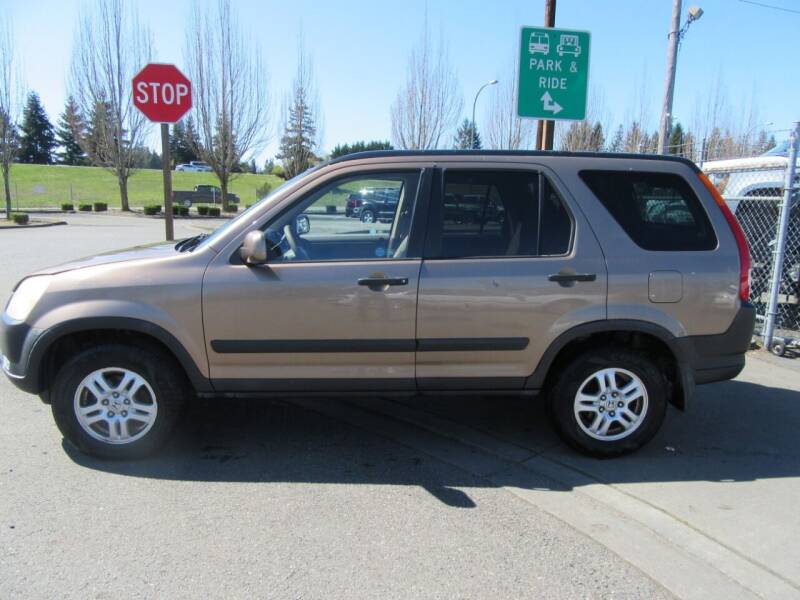 2002 Honda CR-V for sale at Car Link Auto Sales LLC in Marysville WA