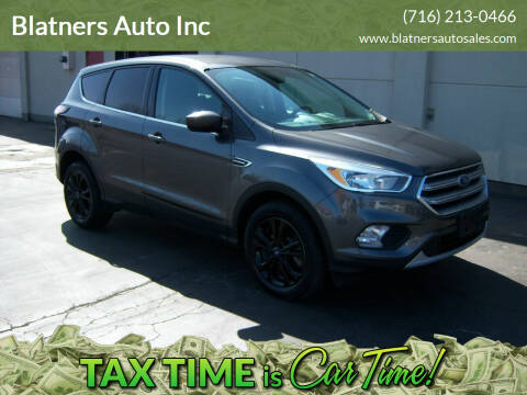 2017 Ford Escape for sale at Blatners Auto Inc in North Tonawanda NY