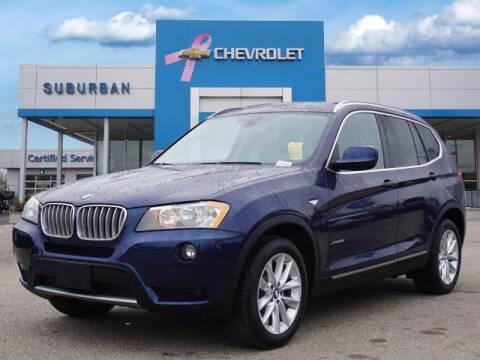 2014 BMW X3 for sale at Suburban Chevrolet of Ann Arbor in Ann Arbor MI